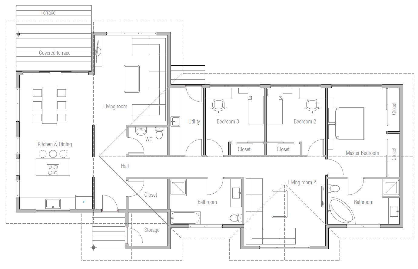 house design house-plan-ch487 10