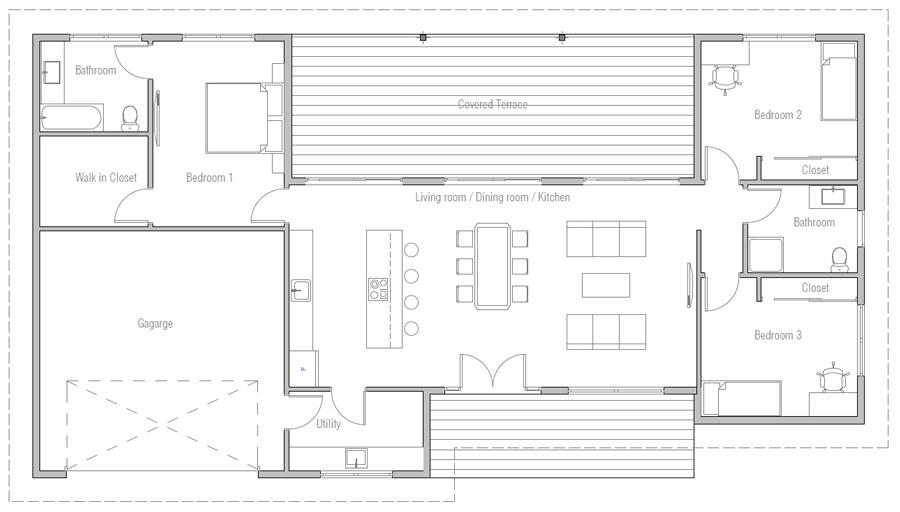house design house-plan-ch496 10