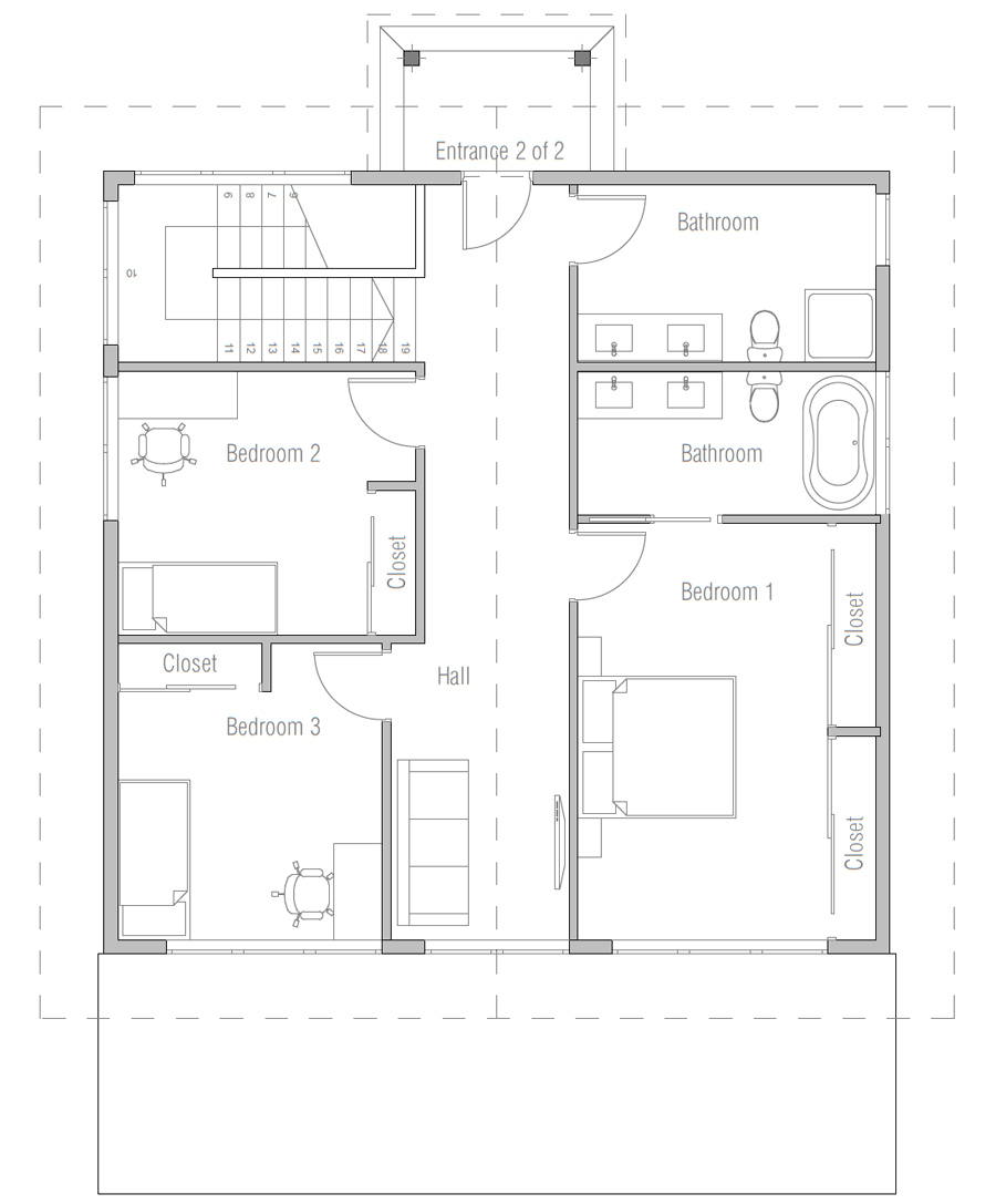 House Plan Ch500 House Plan