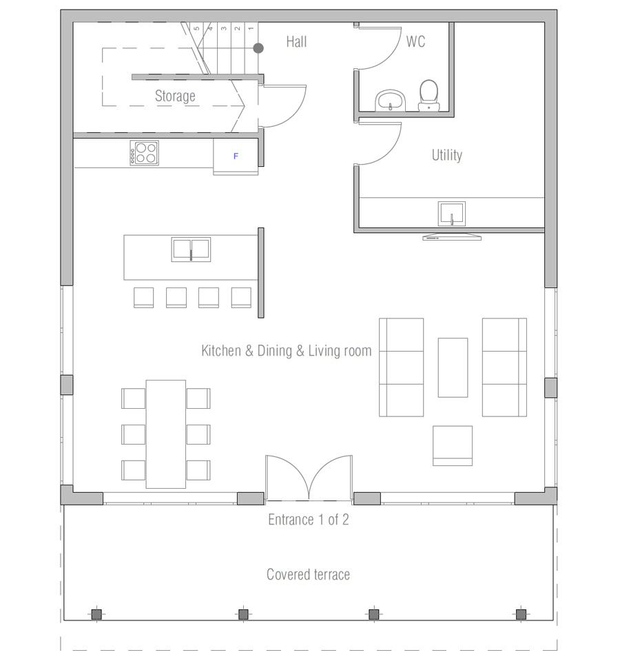 House Plan Ch500 House Plan