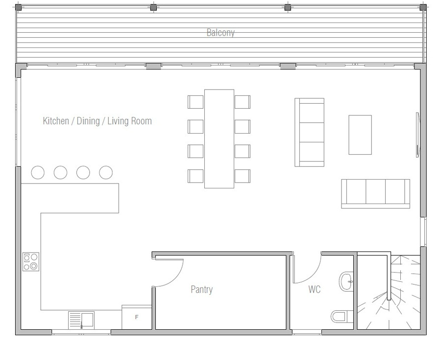 House floor plan 270 for Floor plans for 160 000