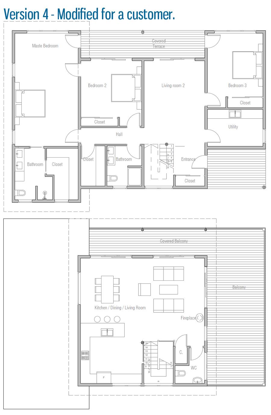house design house-plan-ch517 34