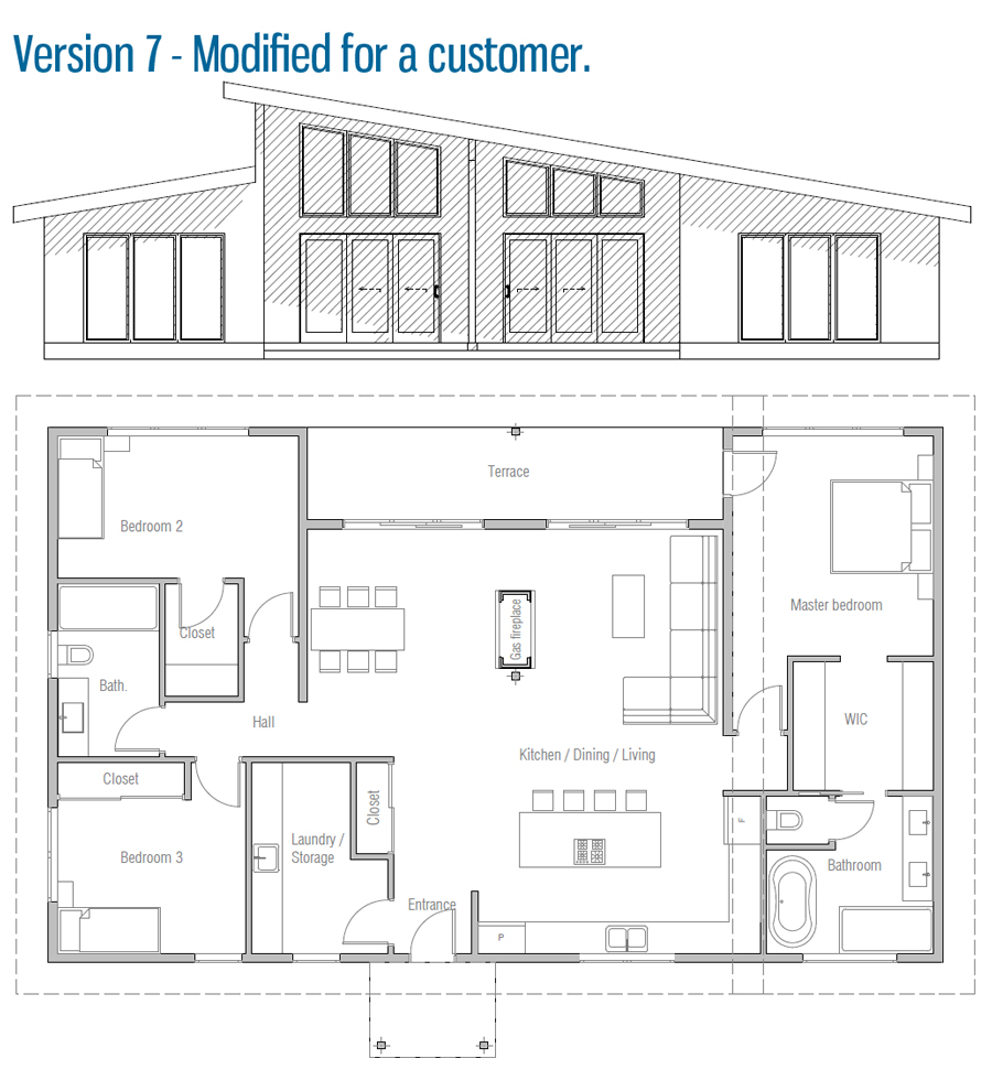 house design house-plan-ch517 45