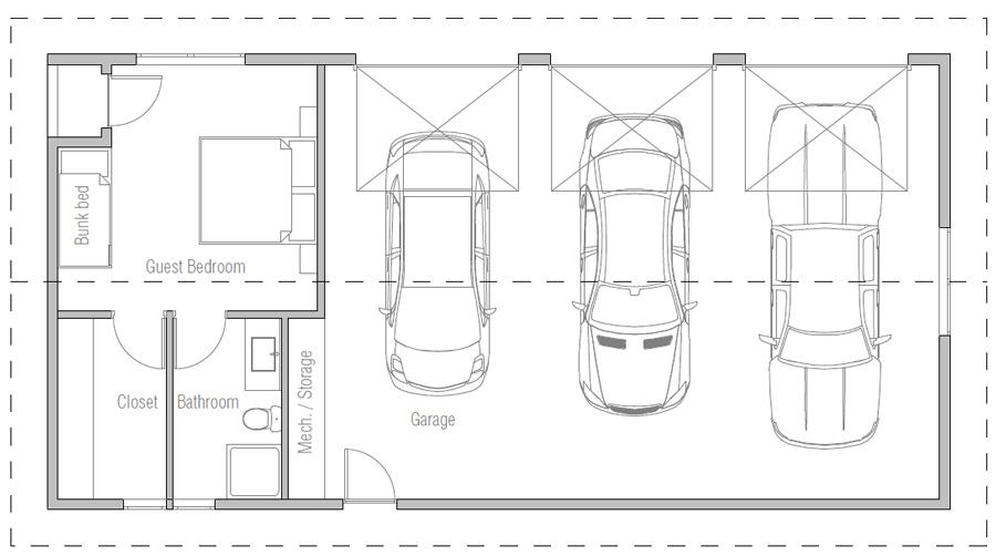 house design garage-g812 10
