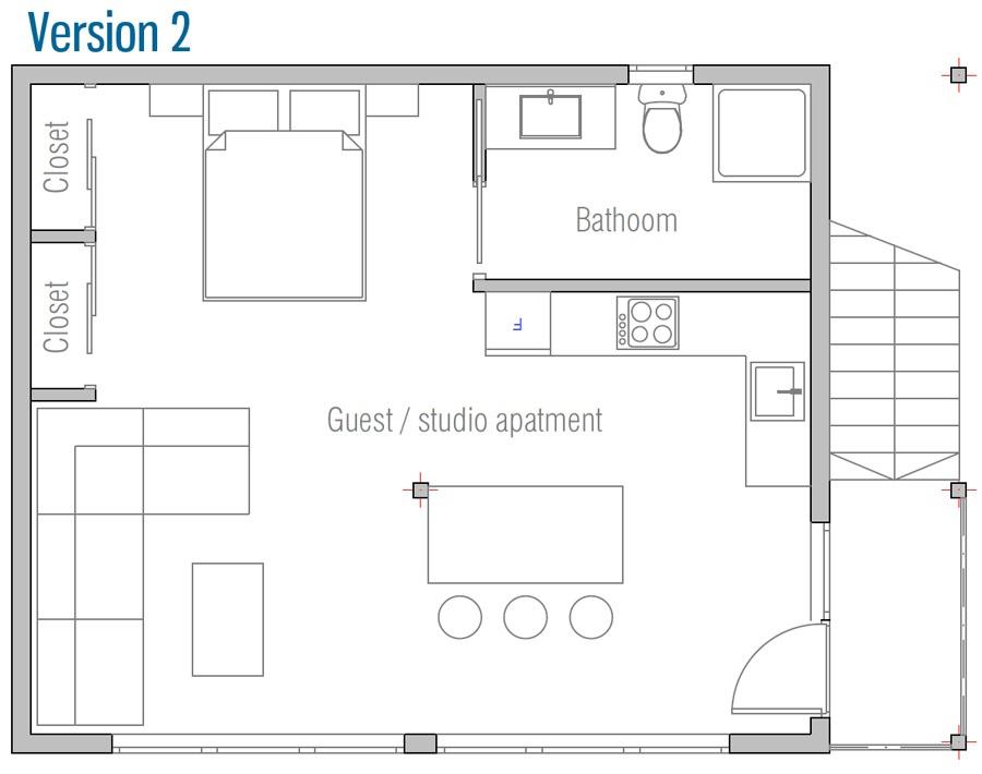 house design garage-g813 21