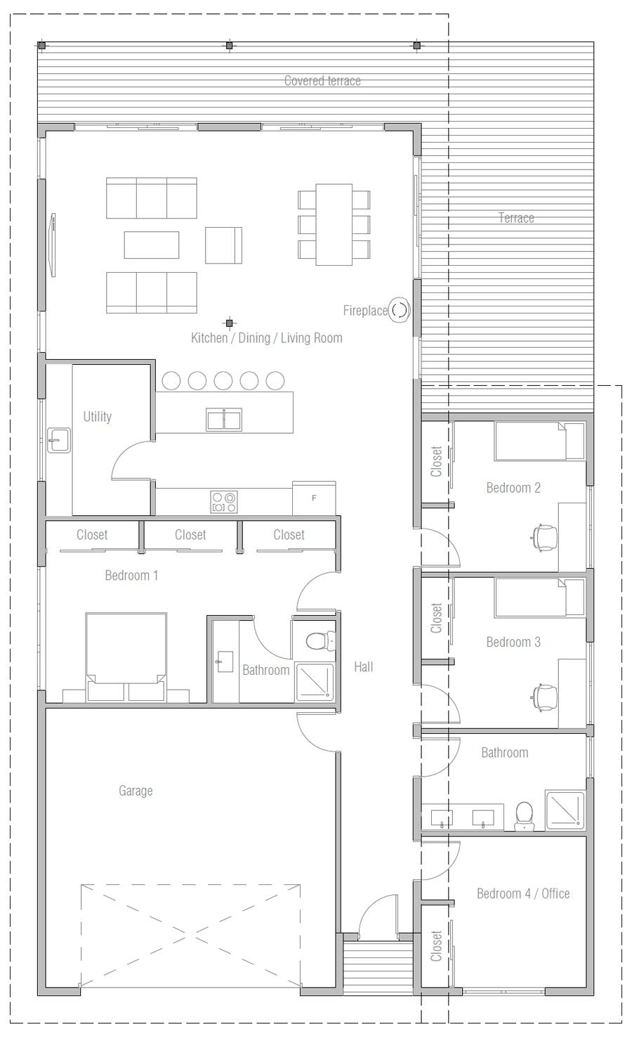 house design house-plan-ch523 10