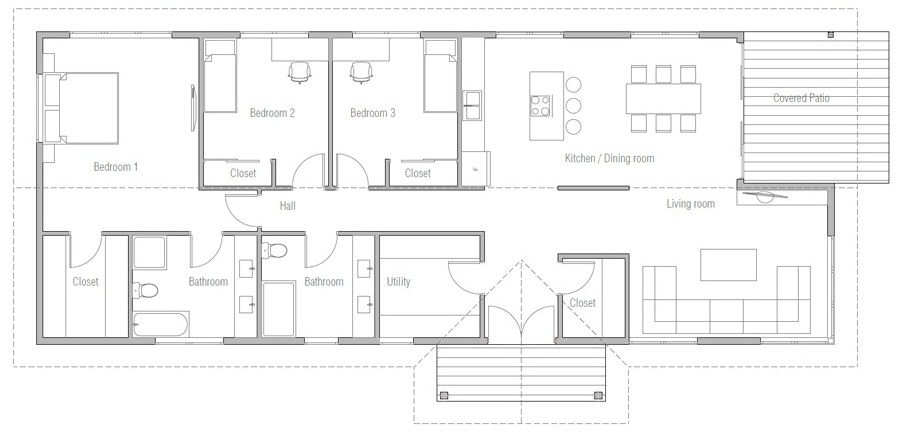 house design house-plan-ch530 20