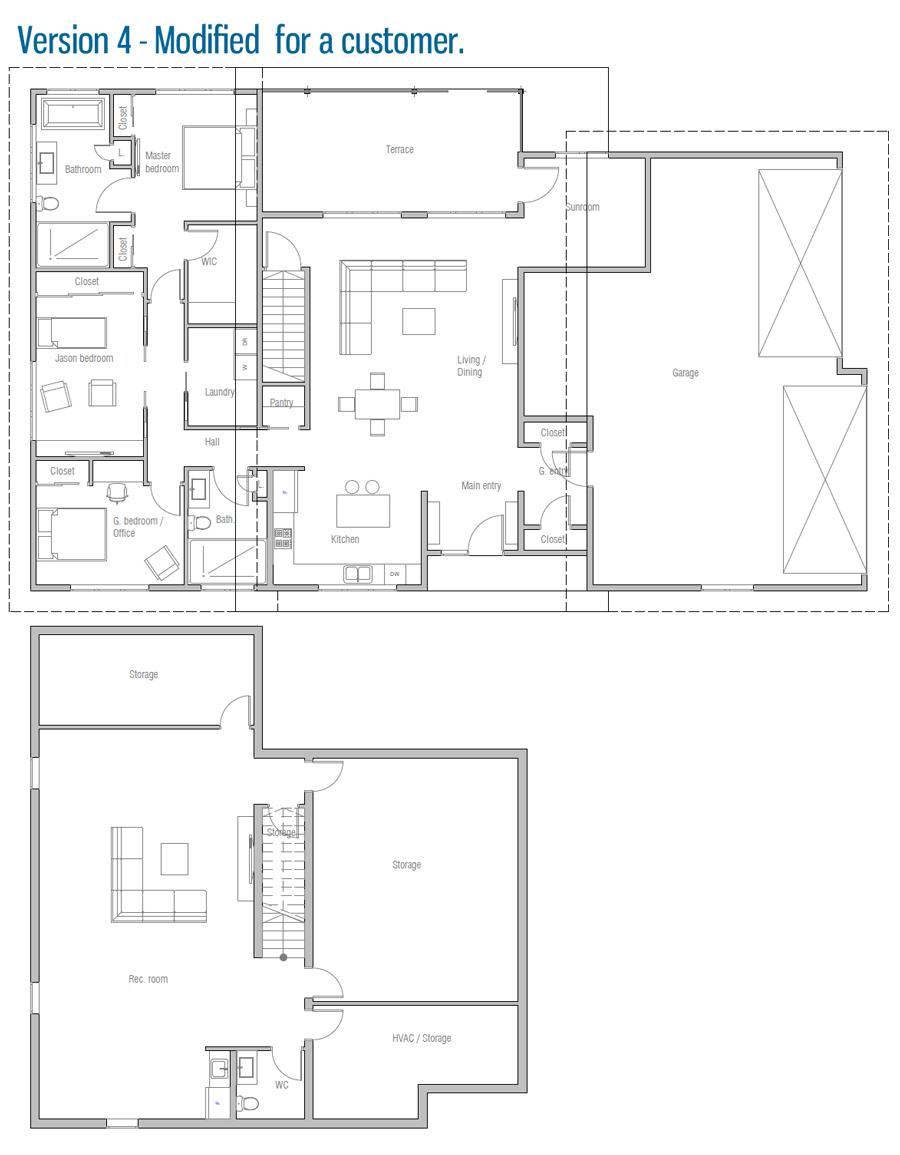 house design house-plan-ch544 45