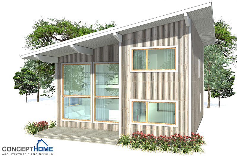 Home Design Concept Lyon 9 Small Modern House Ch9 2f 154m 4b Small House  Plan With
