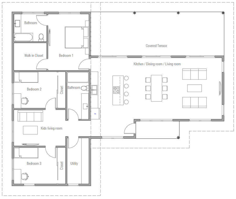 house design house-plan-ch564 20