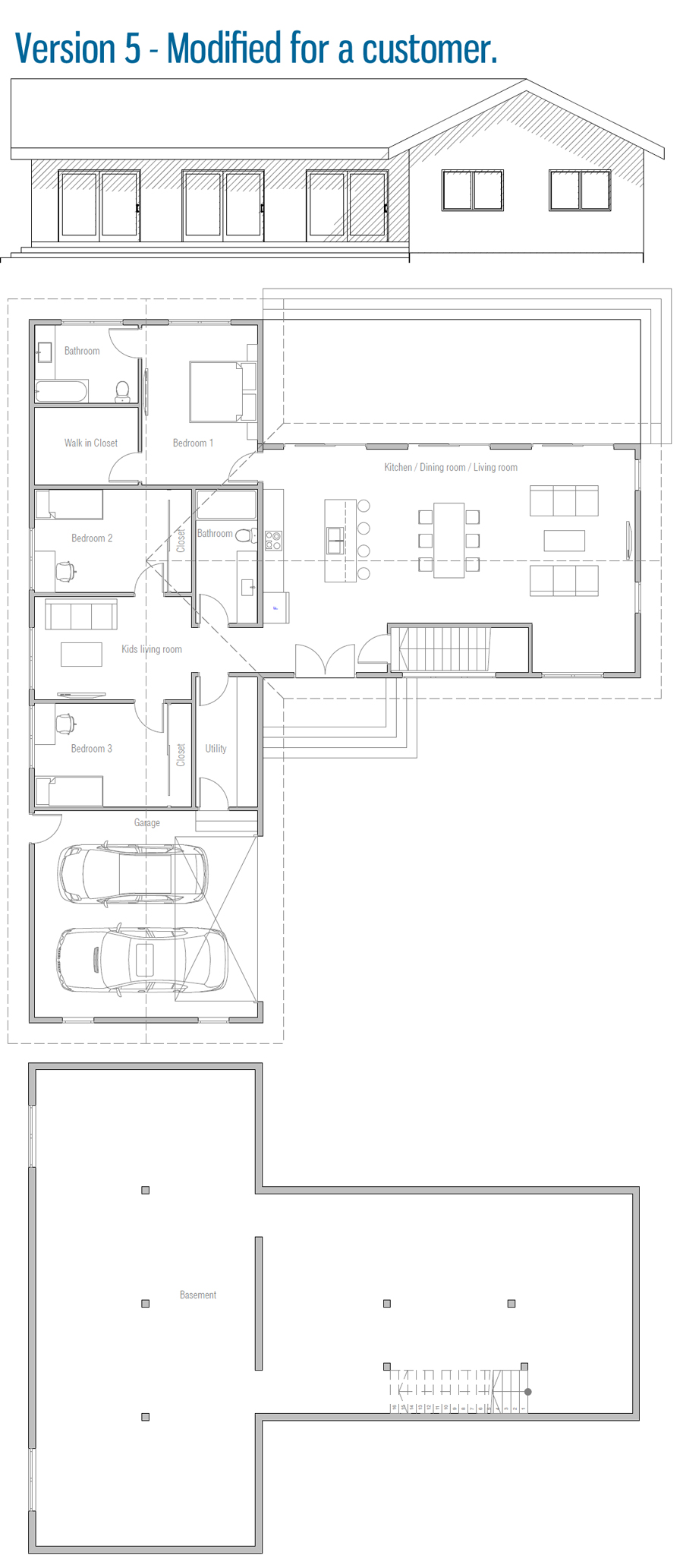 house design house-plan-ch564 45