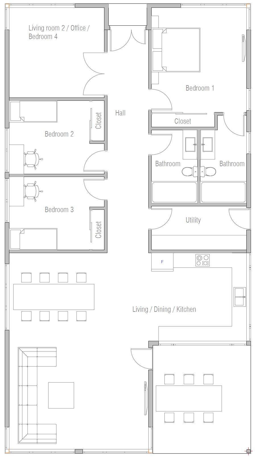 house design house-plan-ch566 10