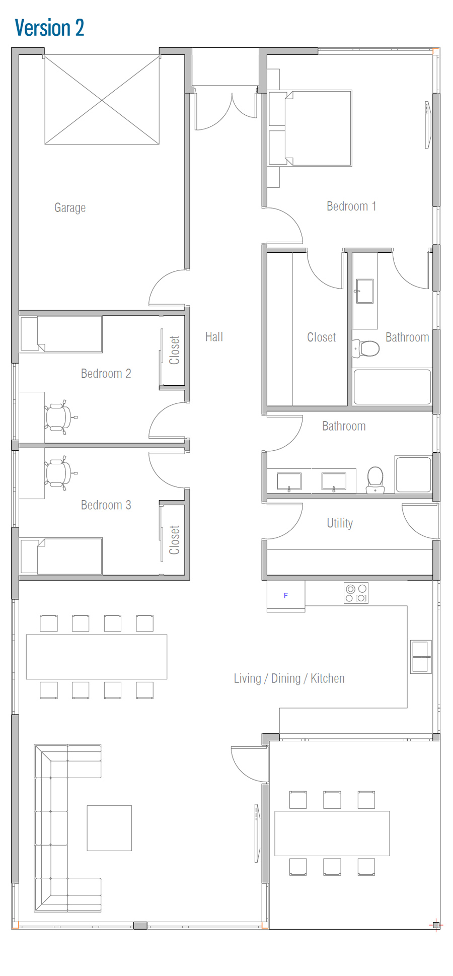 house design house-plan-ch566 11