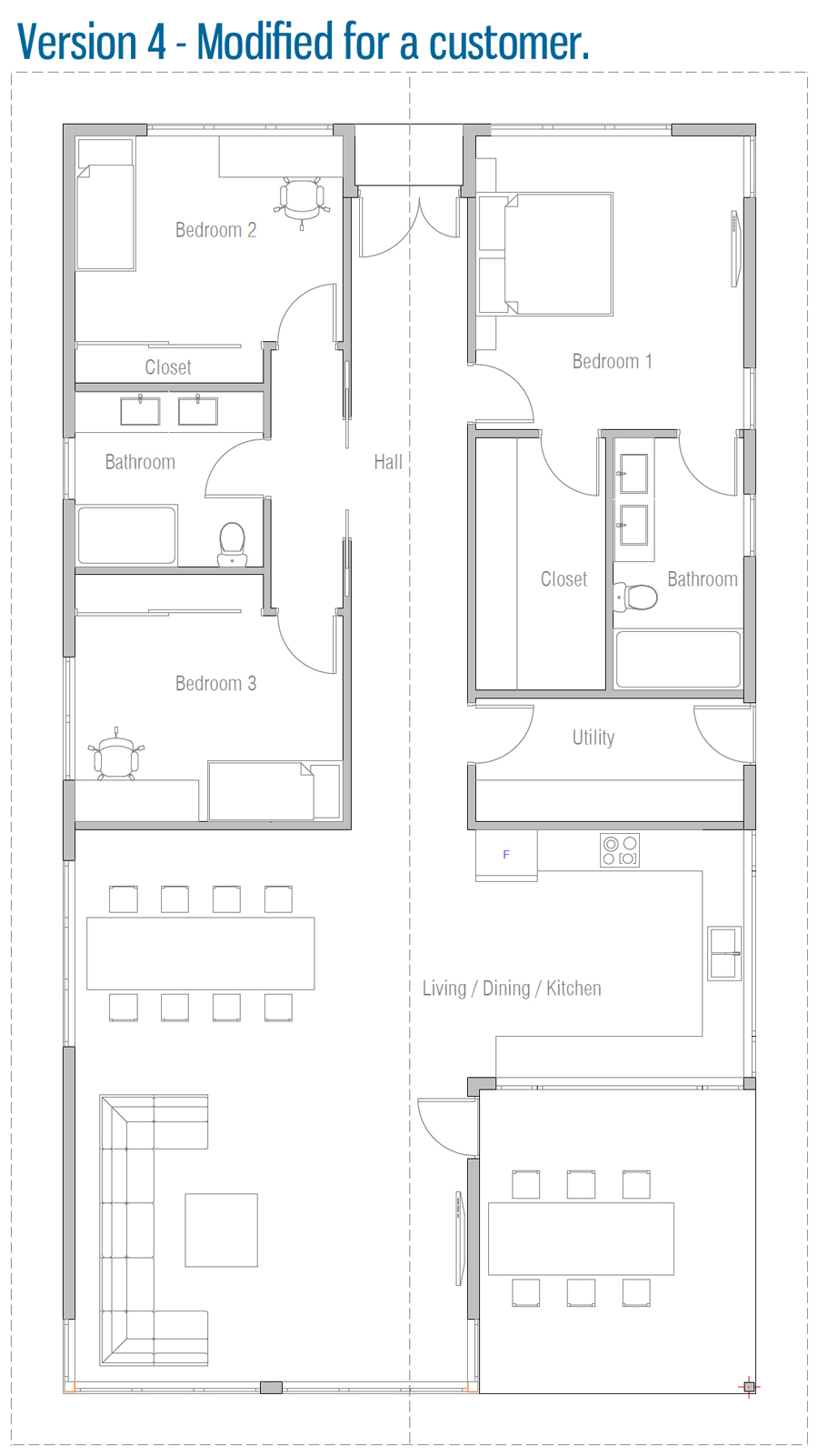 house design house-plan-ch566 20