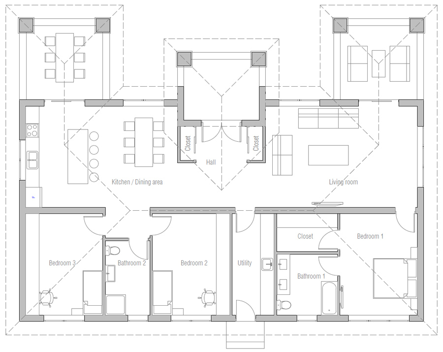 house design house-plan-ch574 10