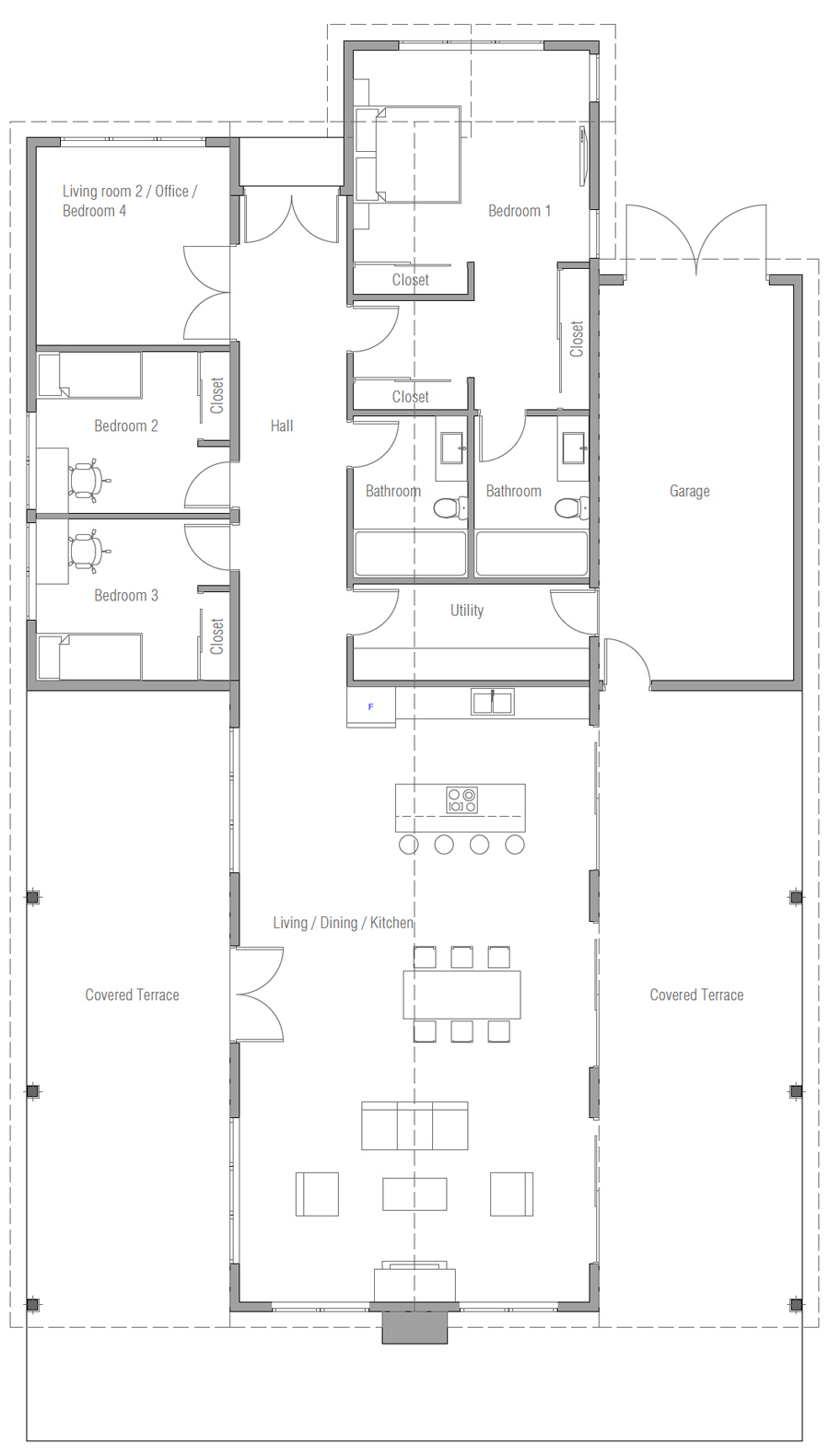 house design house-plan-ch578 20
