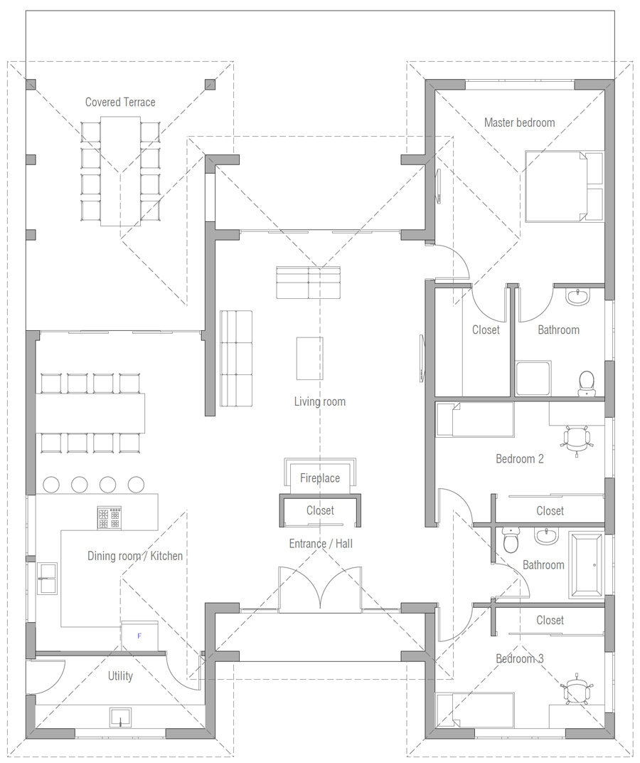 house design house-plan-ch573 20