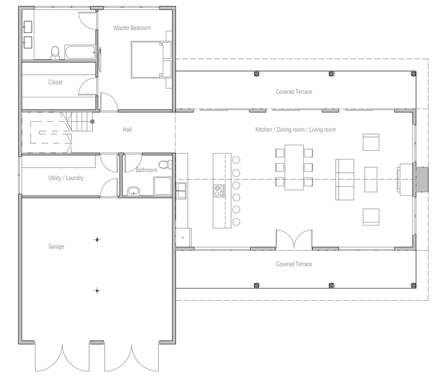 house design house-plan-ch581 20