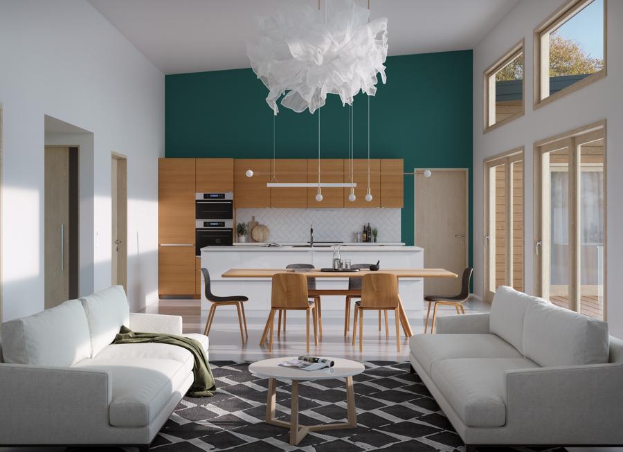 house design house-plan-ch584 2