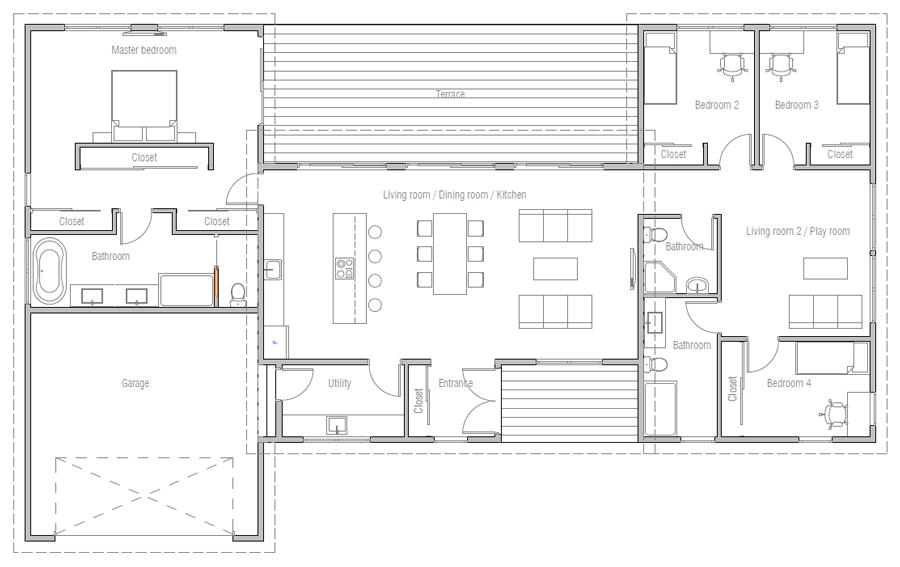 house design house-plan-ch584 20