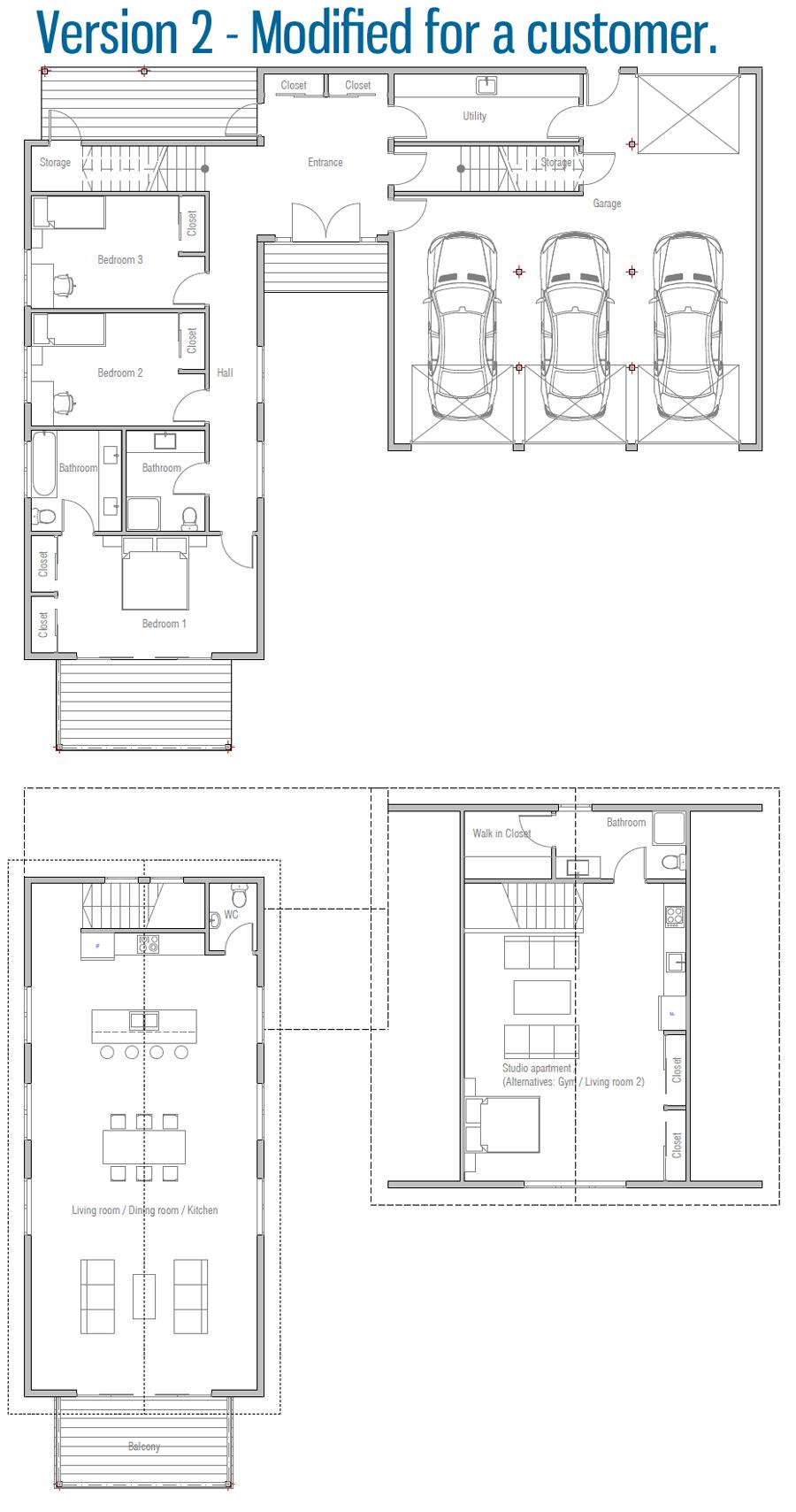 house design house-plan-ch593 30