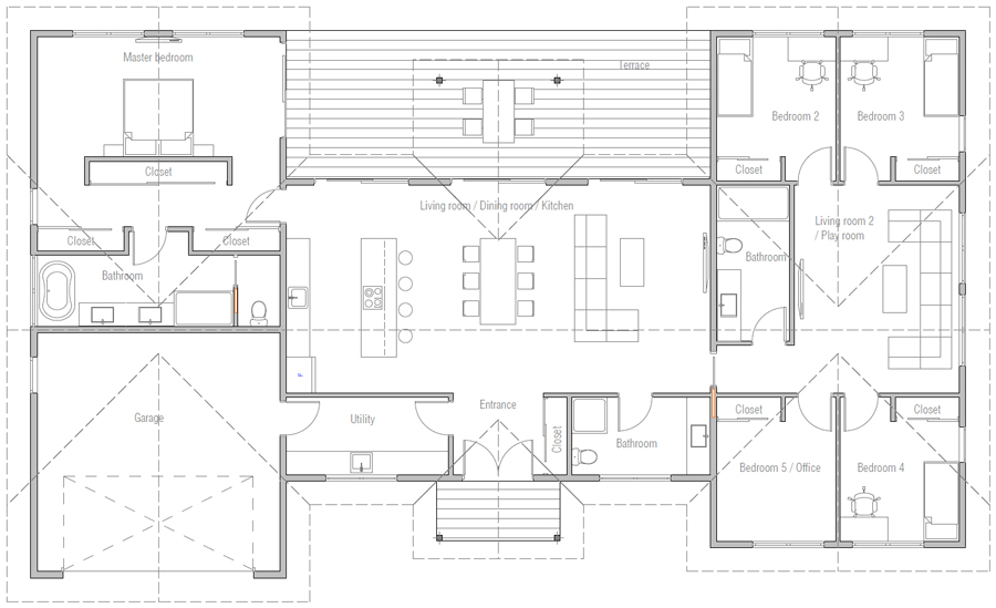 house design house-plan-ch596 20