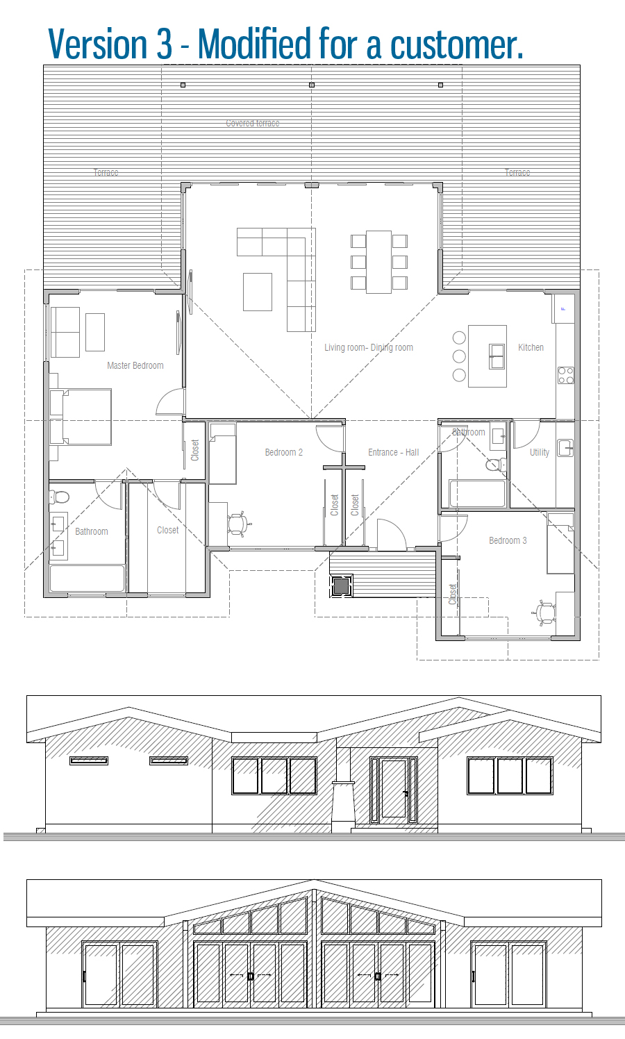 house design house-plan-ch595 35