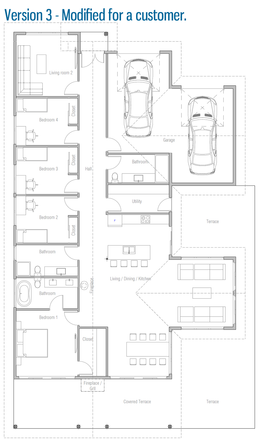 house design house-plan-ch601 35