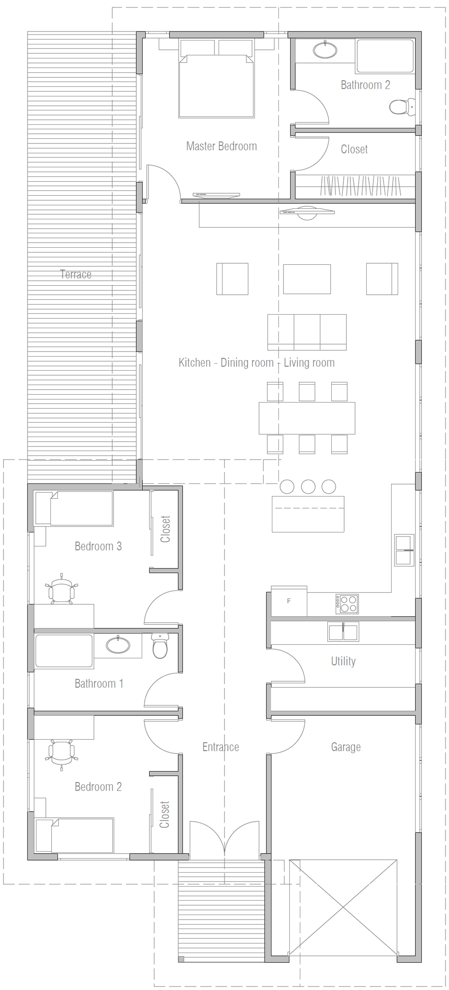 house design house-plan-ch603 20