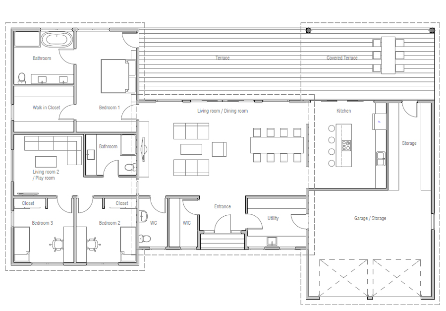 house design house-plan-ch610 20