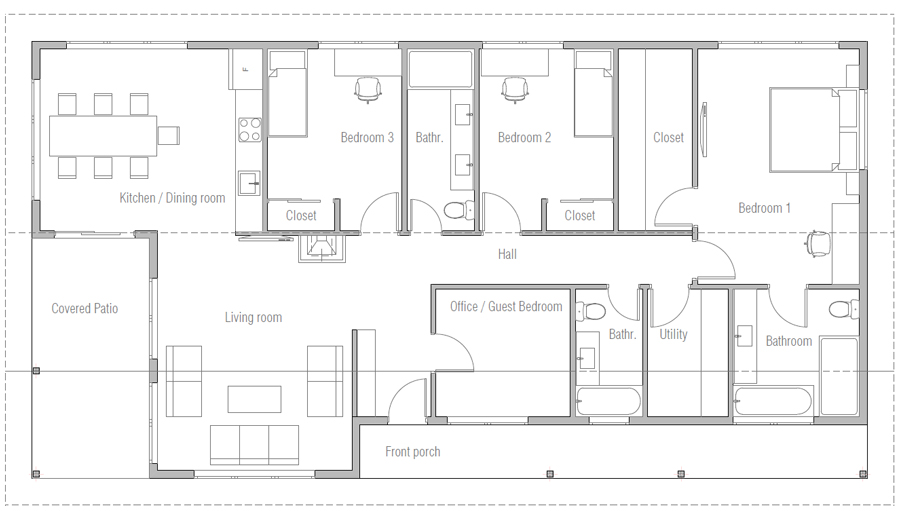 house design house-plan-ch652 20