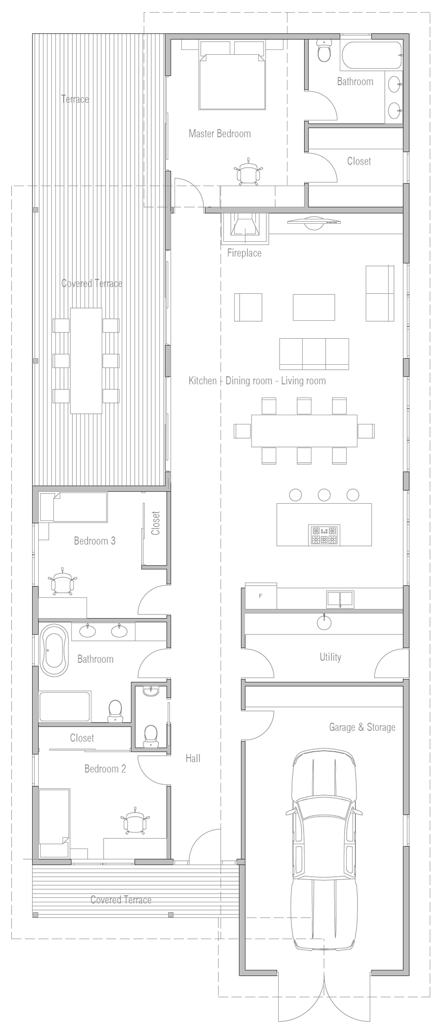 house design house-plan-ch670 20