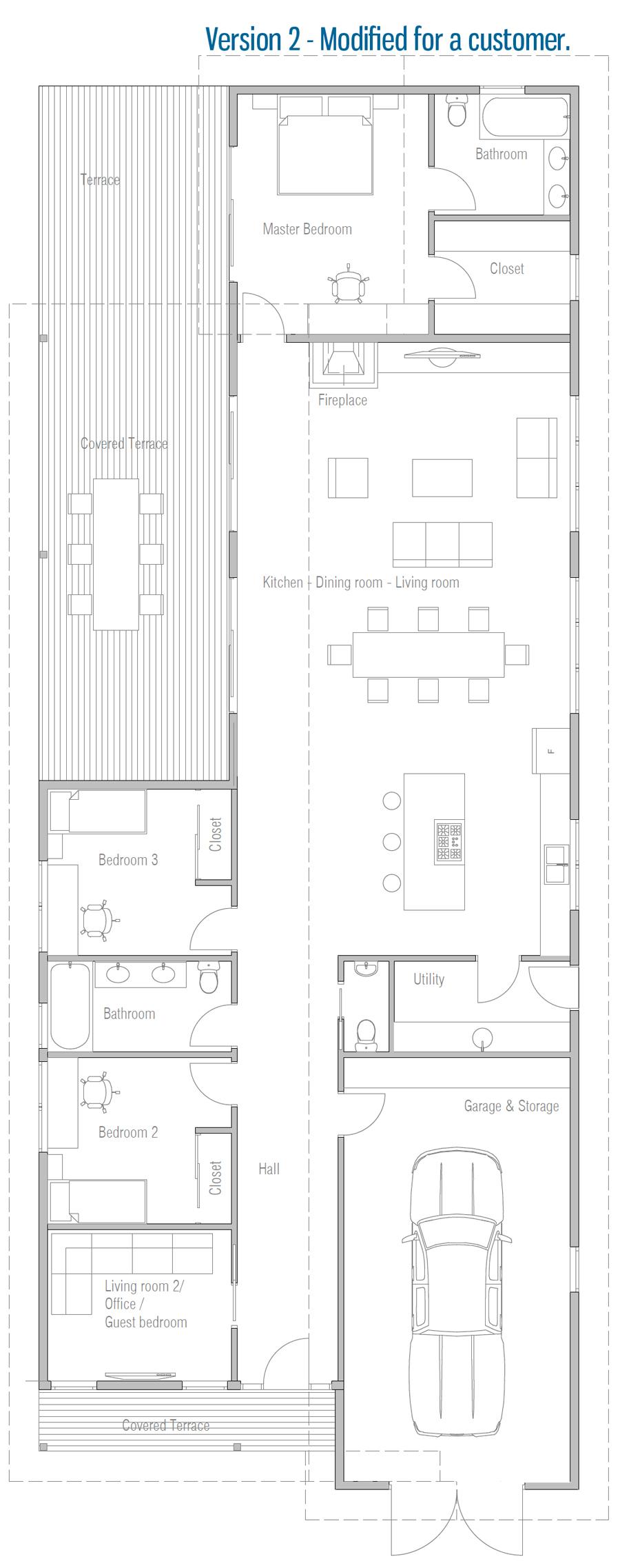 house design house-plan-ch670 22