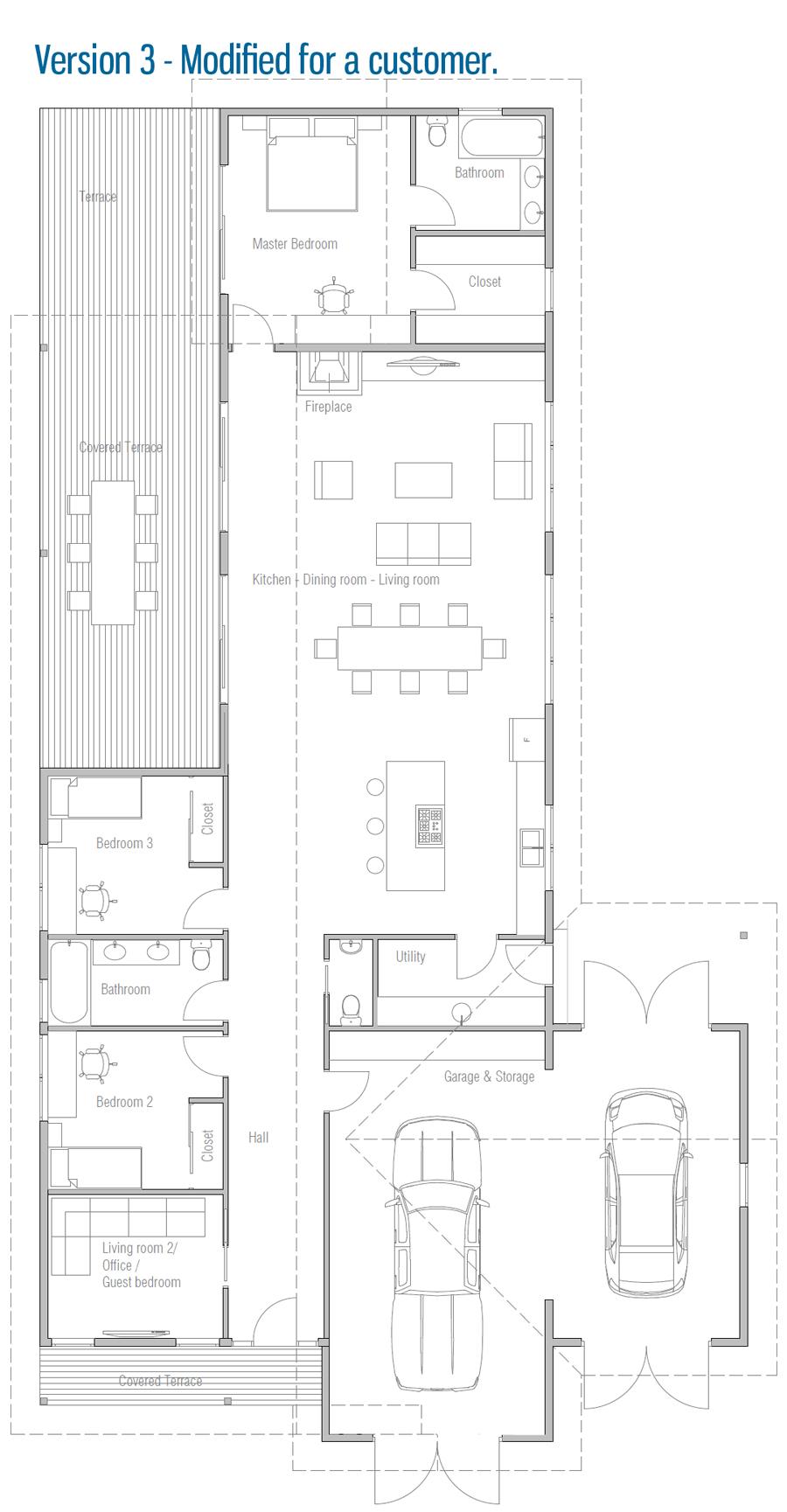 house design house-plan-ch670 25