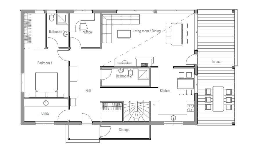 small house design with floor plan. jpg housedesigns_10_035ch_1f_120821_house_planjpg small house design with floor plan