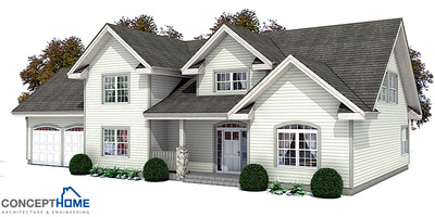 Classical American House Plan In Craftsman Style