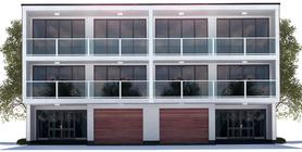 Duplex House Plan CH412D
