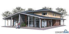 Duplex House Plan OZ83D