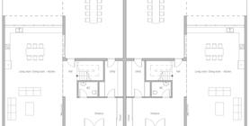 duplex house 10 house plan ch434 dupleks.jpg