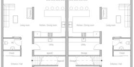 duplex house 10 house plan cH437D.jpg