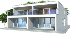 Duplex House Plan CO83D-2