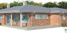 Modern House CH121 1F 138M 3B Small House Plan