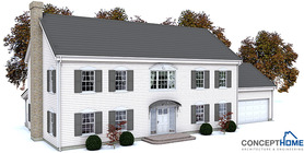 Classical House Plan CH131