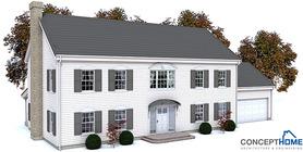 Classical House Plan CH131