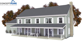 Classical House Plan CH133
