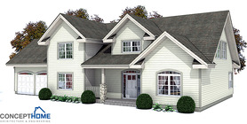 Classical House Plan CH145