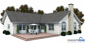 Classical House Plan CH144