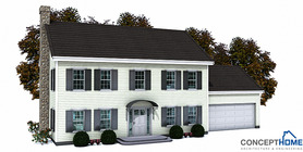 classical designs 001 house plan with photo ch150.JPG