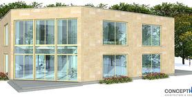 duplex house 02 contemproary duplex house plan ch160d  2 .jpg