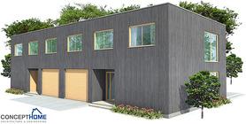 duplex house 03 contemproary duplex house plan ch160d  7 .jpg